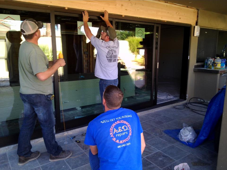 Arizona Sliding Door Install