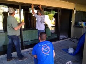 Arizona-Sliding-Door-Install
